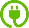 Linkkikuvake ICT:n energiatehokkuus -itsearviointisivulle